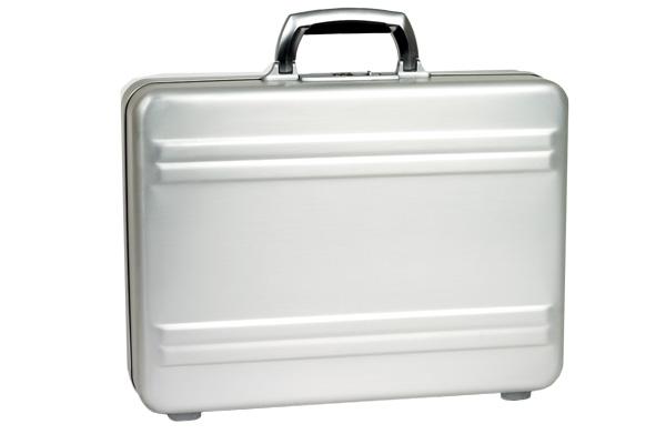 "Aluminum Attache Z17-SI - алюминиевый атташе кейс для ноутбука 17"""
