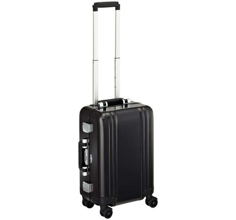 """Classic Aluminum ZRC19-BK - 19"""" 4-колесный алюминиевый черный чемодан серии ZRC"""