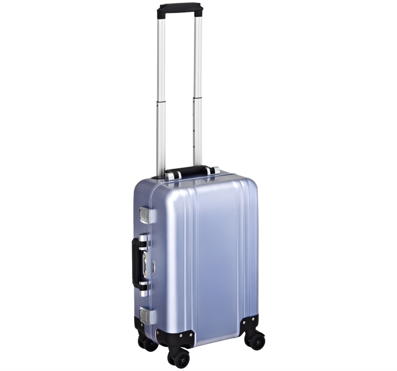 """Classic Aluminum ZRC19-PB - 19"""" 4-колесный алюминиевый голубой чемодан серии ZRC"""
