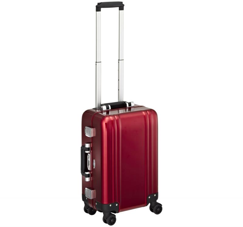 """Classic Aluminum ZRC19-RD - 19"""" 4-колесный алюминиевый красный чемодан серии ZRC"""