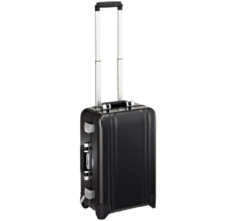 Classic Aluminum ZRC20-BK - 2-колесный алюминиевый черный чемодан серии ZRC