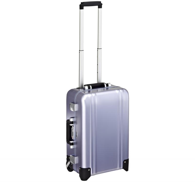 Classic Aluminum ZRC20-PB -  2-колесный алюминиевый голубой чемодан серии ZRC