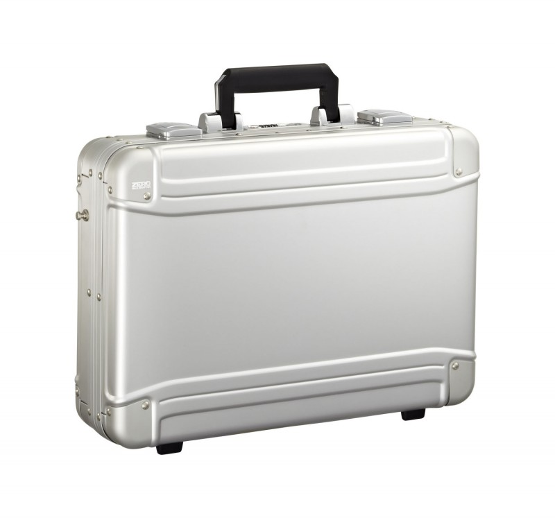 Geo Aluminum Attache ZRG-LC - Большой Алюминиевый Кейс для Ноутбука серии гео