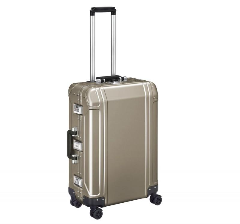 """Geo Aluminum 2.0 ZRG224-BR - 24"""" 4-колесный  Алюминиевый чемодан Серии ГЕО2  (Цвета Бронзы)"""