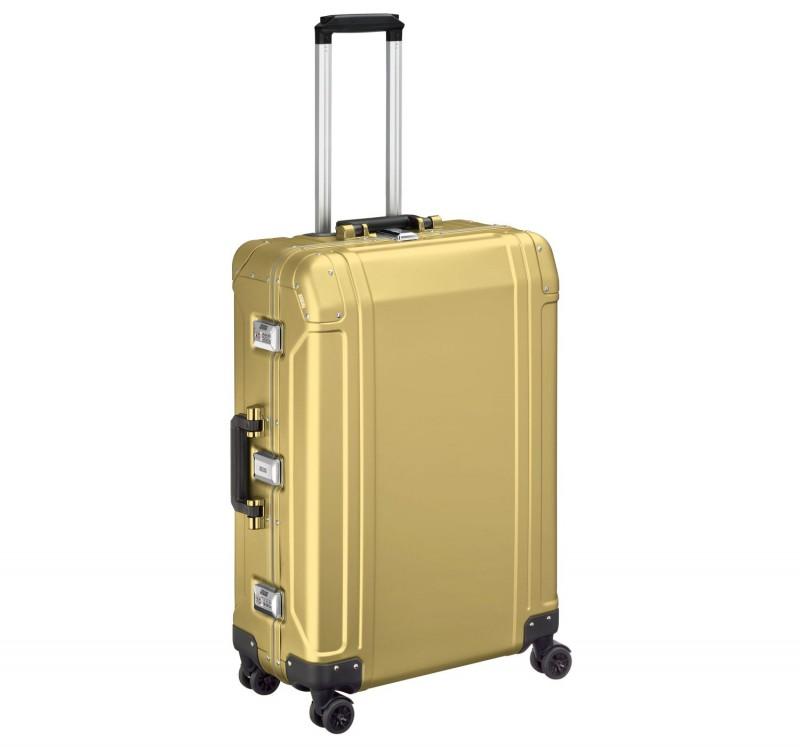 """Geo Aluminum 2.0 ZRG226-PG - 26"""" 4-колесный Алюминиевый чемодан серии ГЕО2 (ЦВЕТА ЗОЛОТА)"""