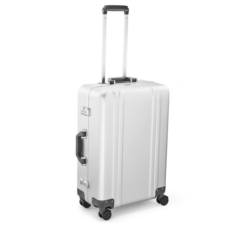 "Classic Aluminum ZRC24A-SI - 24"" 4-колесный алюминиевый чемодан серии ZRC"