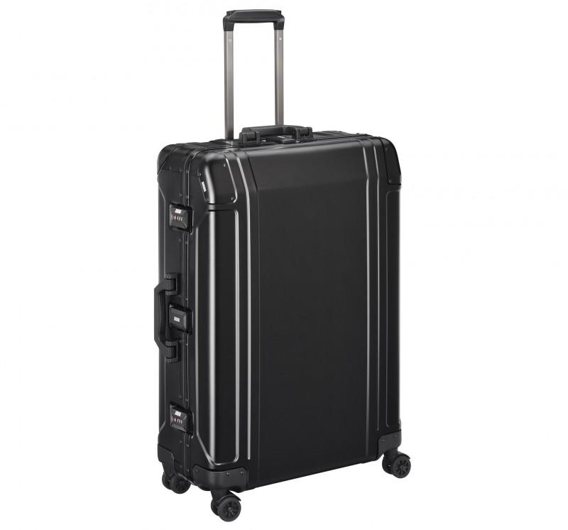 """Geo Aluminum 3.0 ZRG2528-BK - 28"""" 4-колесный черный алюминиевый чемодан серии ГЕО 3"""
